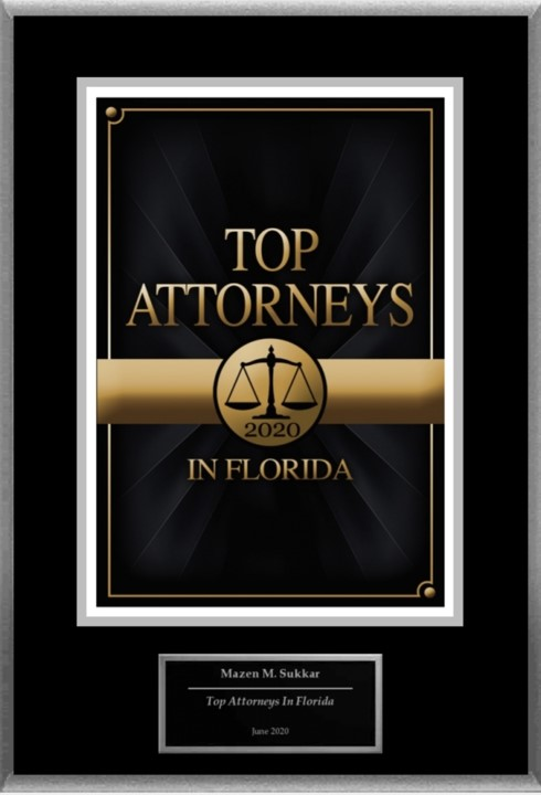 Top Attorneys in Florida 2020 - Mazen Sukkar